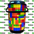 Cooler para 06 latas - PRETO