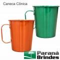 Caneca Cônica 750 ml. em alumínio colorido